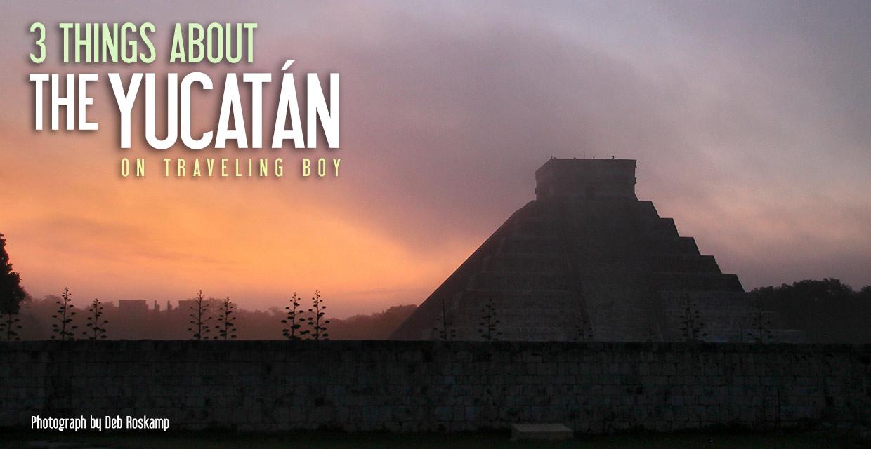 sunrise at Chichen Itza, the Yucatan, Mexico