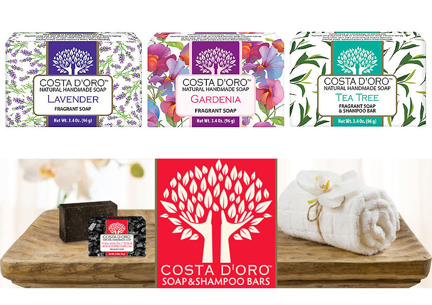 Costa D'Oro handmade soaps by Siege