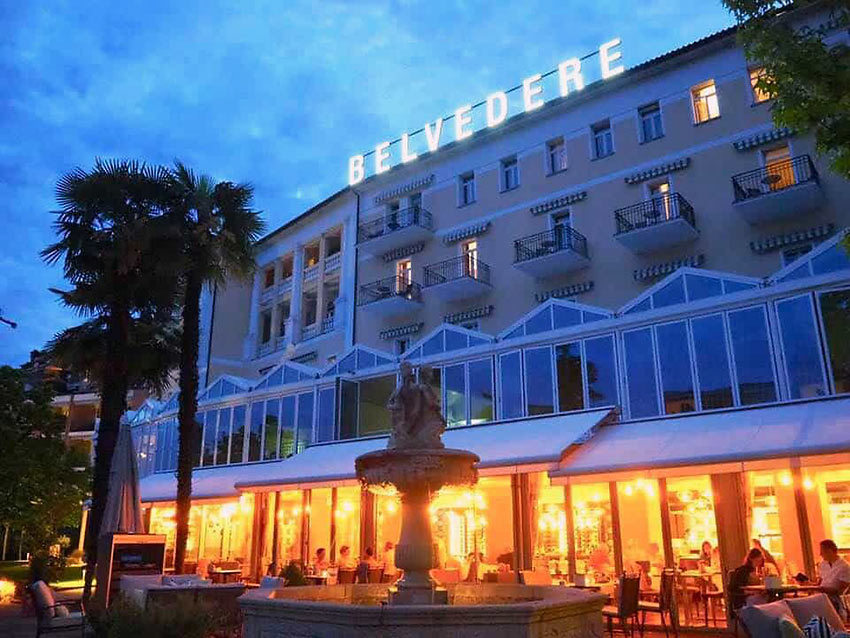 the 5-Star Belvedere Hotel