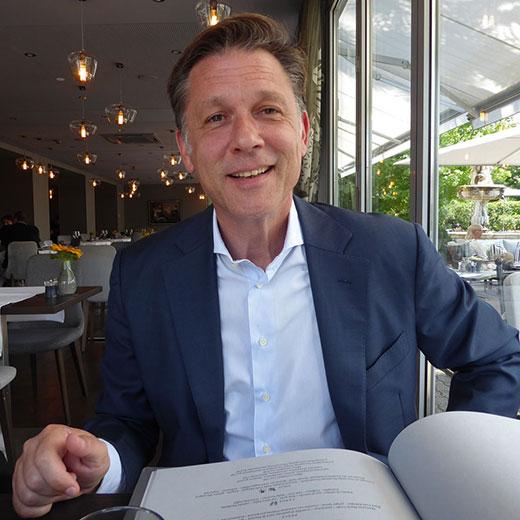 Director Michele Rinaldini of Hotel Belvedere