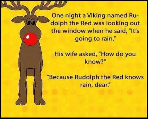 Parting Shot: Rudolph the Red