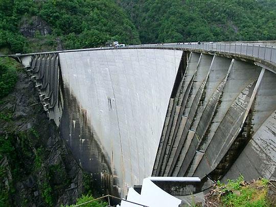 Verzasca Valley Dam, also known as the Contra Dam