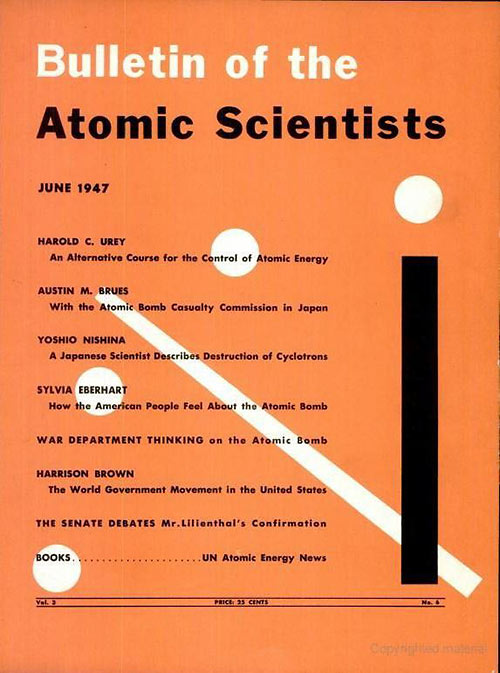 Bulletin of the Atomic Scientist, June 1947