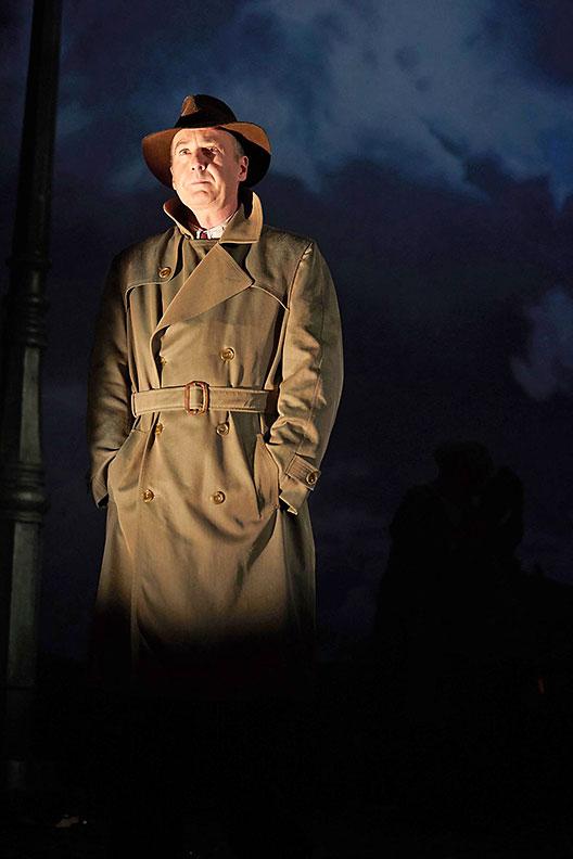 Liam Brennan as Inspector Goole in 'An Inspector Calls'