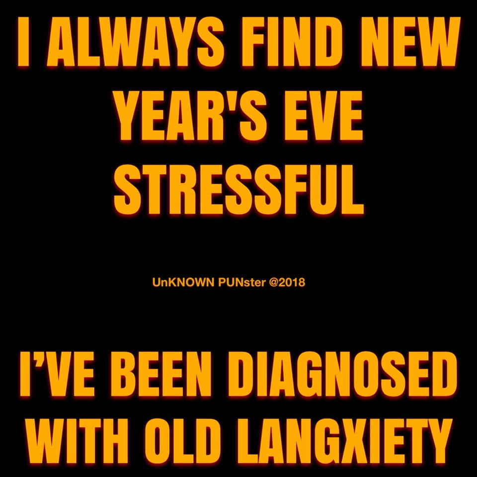 Don's Puns: Old Langxiety