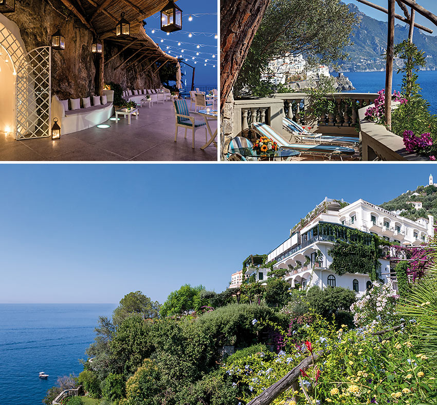 the Hotel Santa Caterina