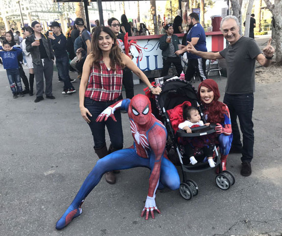 Spiderman at the Comic Book Convention