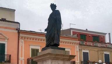 statue of Quintus Horatius Flaccus (Horace) in Venosa, Italy