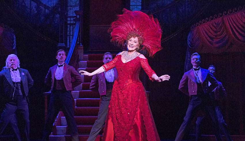 Betty Buckley sings the signature song 'Hello Dolly'