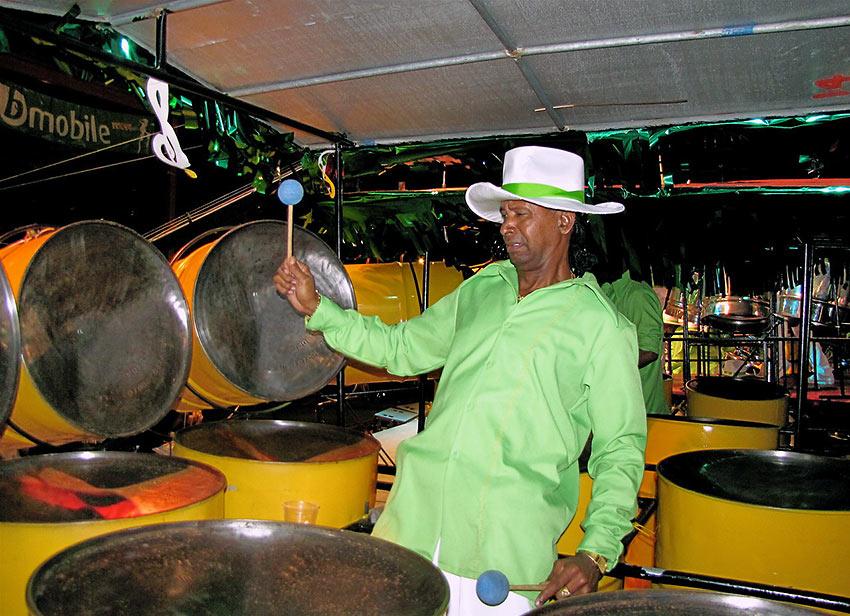 Calypso musician, Trinidad and Tobago