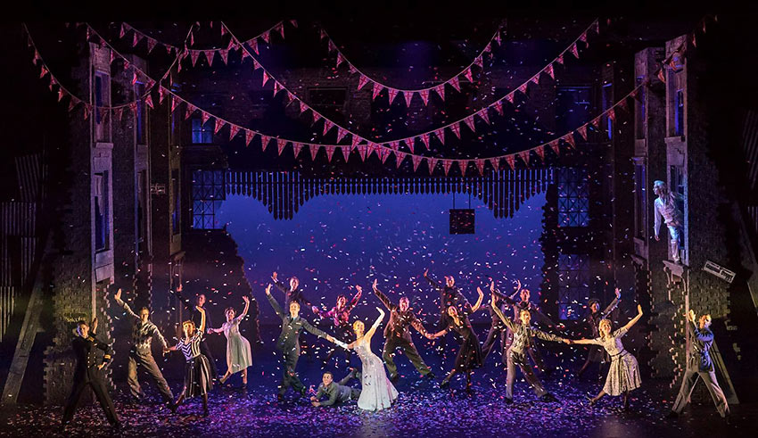 exquisite dance company of Matthew Bourne's spectacular production of 'Cinderella'