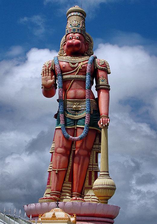 figure of a Hindu god