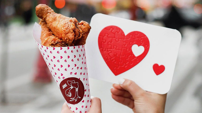 Valentine's Day at Juke Fried Chicken, Vancouver