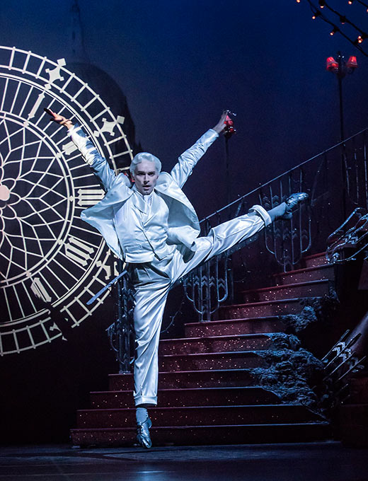 Liam Mower dances the role of The Angel