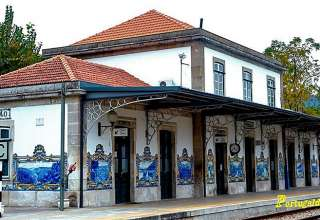 Pinhao Railway Station, Portugal