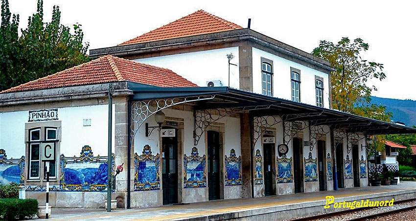 Pinhao Railway Station, Portugal