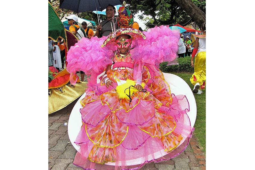Trinidad & Tobago carnival costume