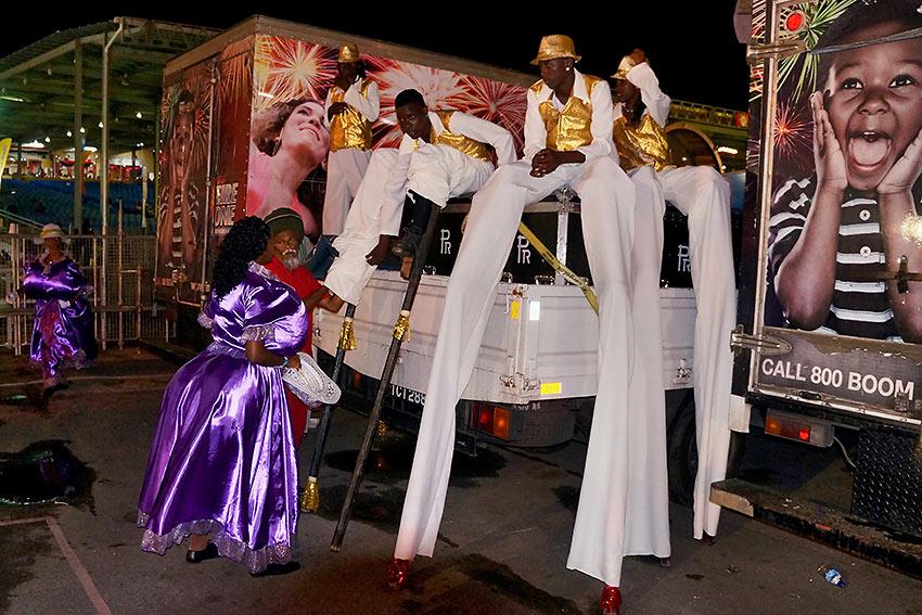 Trinidad & Tobago carnival float
