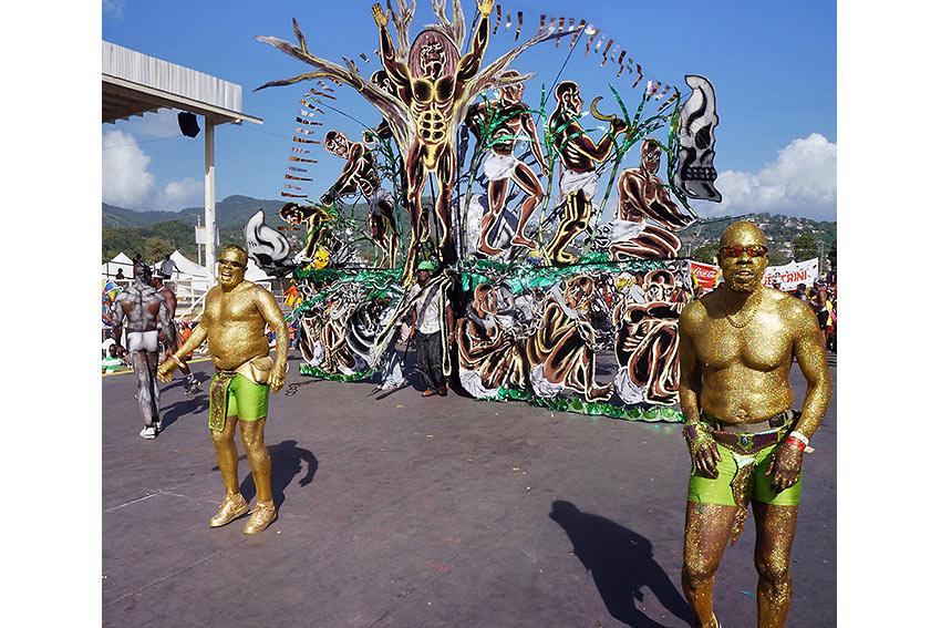 Trinidad & Tobago carnival parade