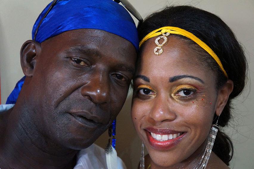 Trinidad & Tobago couple