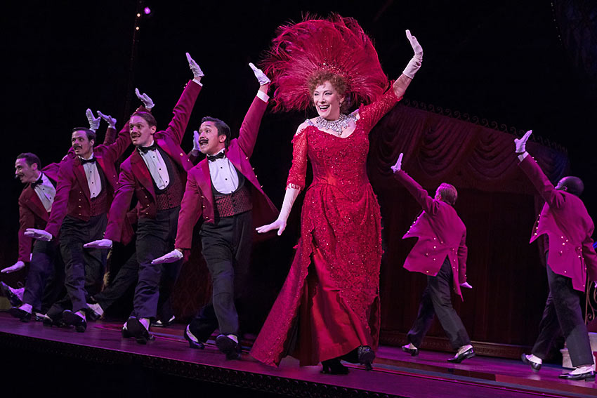 Betty Buckley as Dolly performs 'The Waiters' Gallop'
