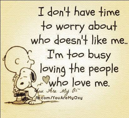 Heavy Thought of the Week: Too Busy Loving