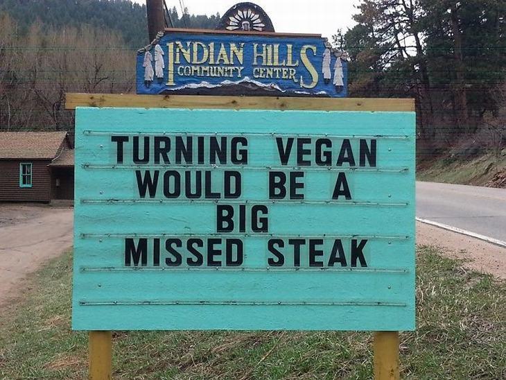 Don's Puns: Turning Vegan