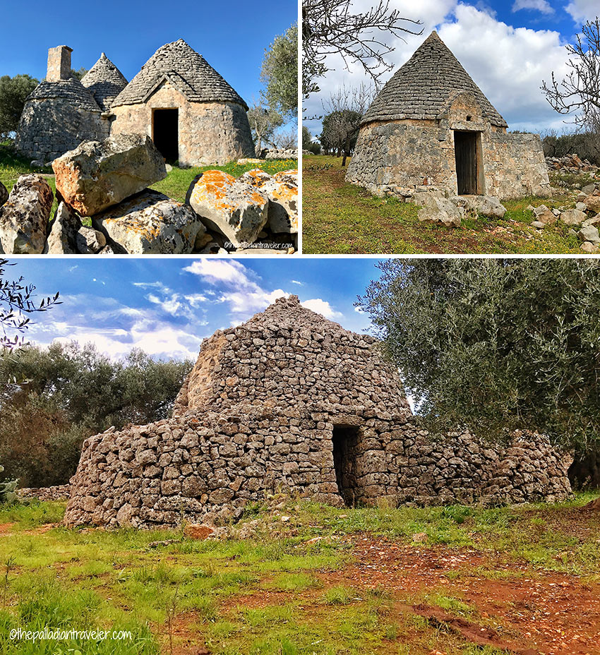 more abandoned trulli at the Valle d'Itria