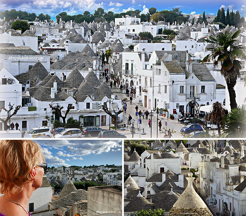 fully-restored trulli in Alberobello, a UNESCO World Heritage Site