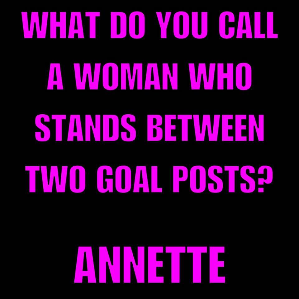 Don's Puns: Annette