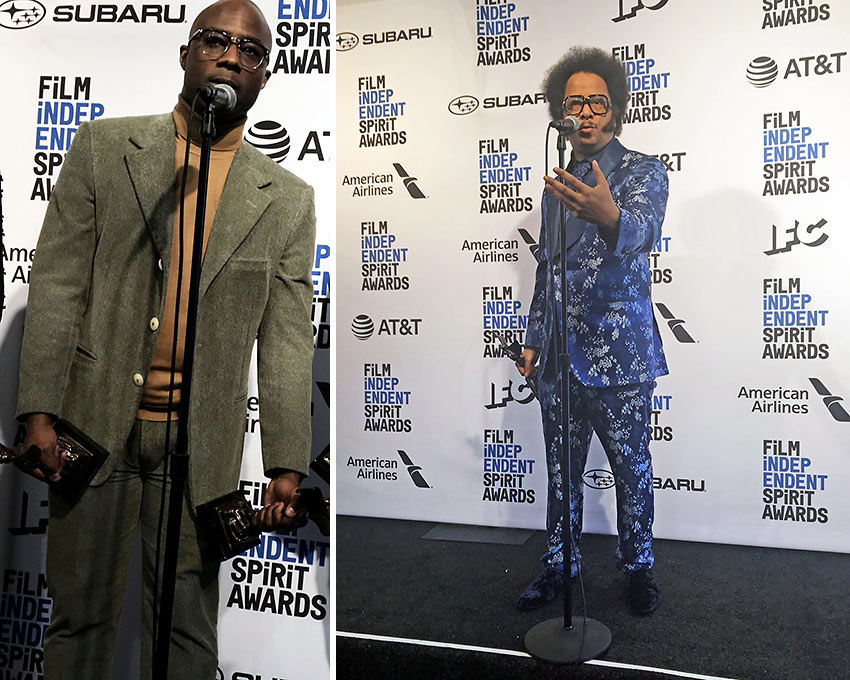 Barry Jenkins and Boots Riley