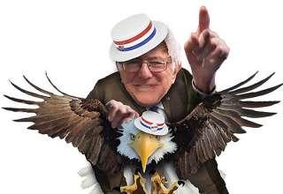 Bernie 2020, by Nancy Ohanian