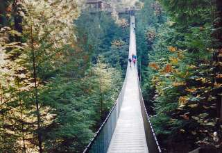 Capilano Bridge, Vancouver, British Columbia