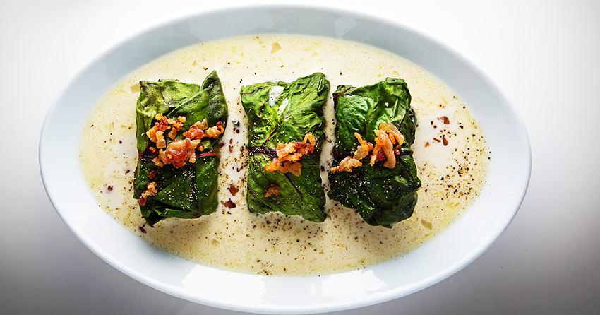 Capuns - a traditional Romansh dish