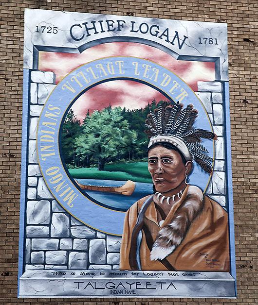 Mingo Indian Chief Talgayeeta, aka Chief Logan