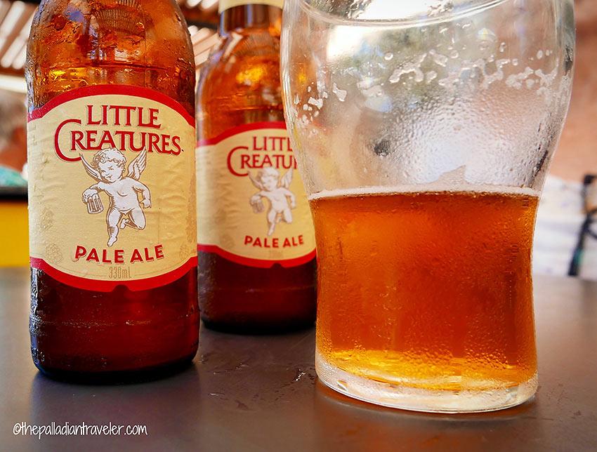 Little Creatures Pale Ale at Coolum's Stellarossa