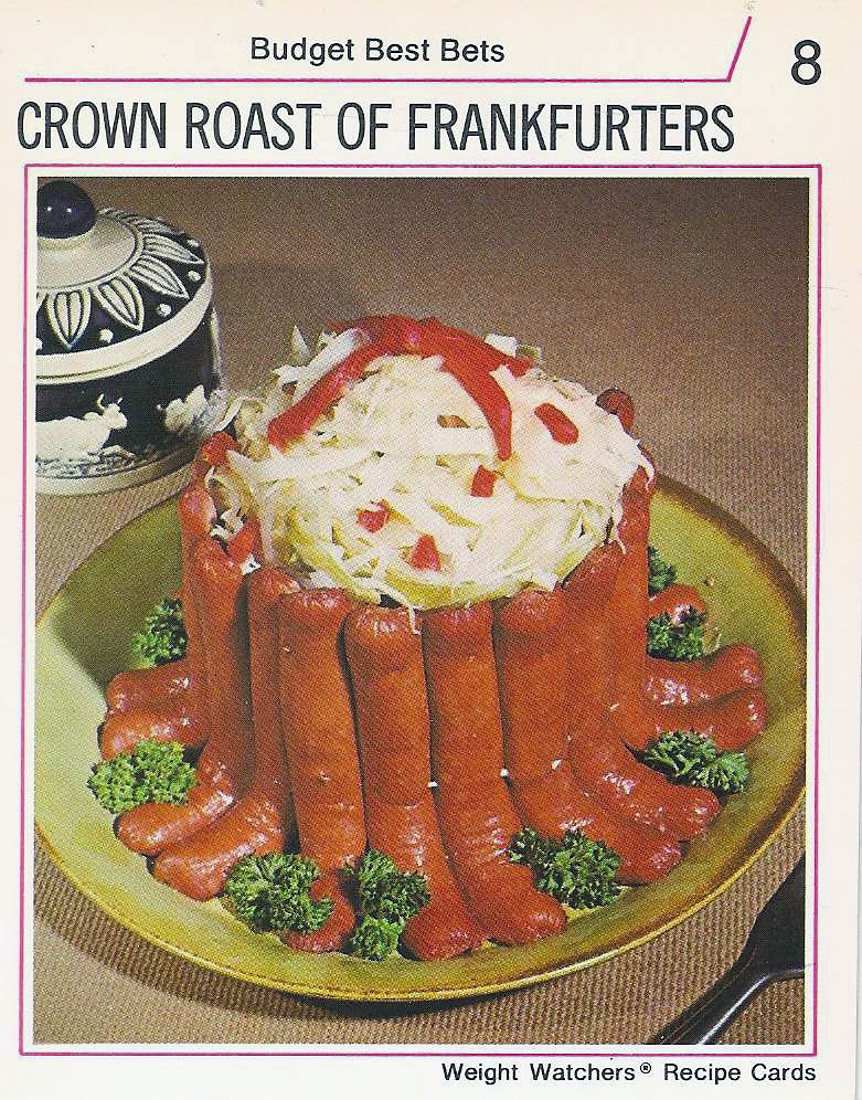 Crown Roast of Frankfurters