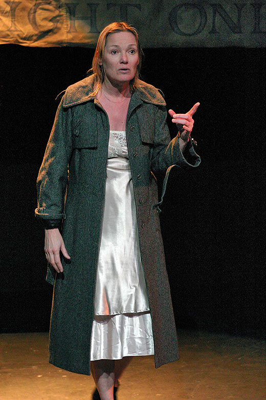 Diana Cignoni as Grace, Frank's long-suffering wife