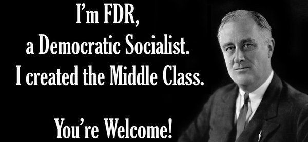 Franklin Delano Roosevelt as a Democratic Socialist