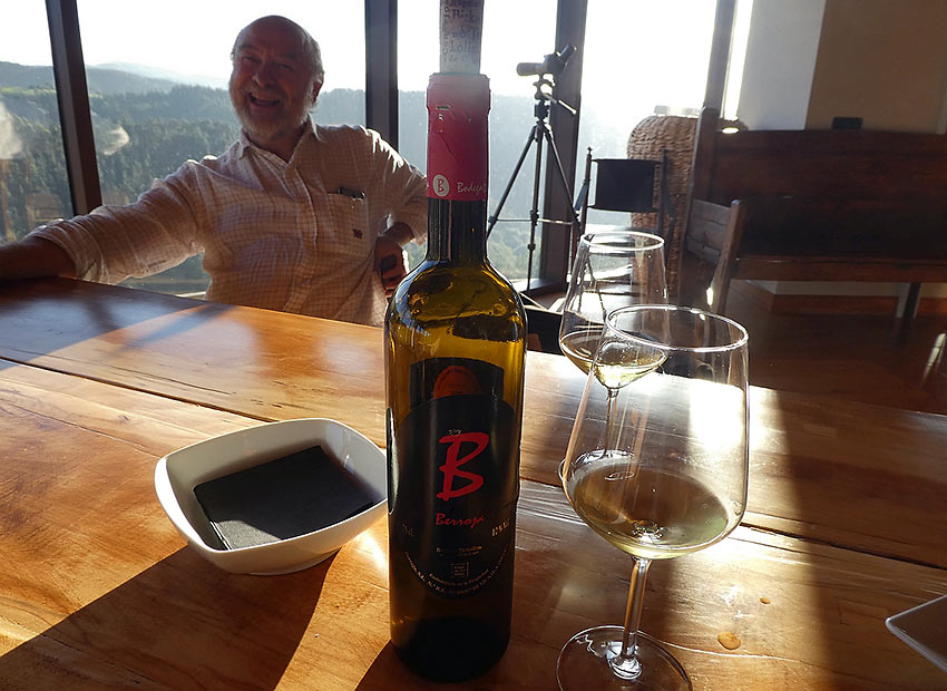 Jose Angel Carrero Arketa at his winery, Bodega Berroja