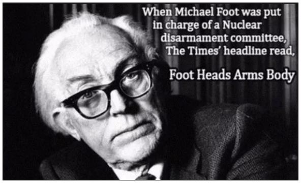 Parting Shot: Michael Foot