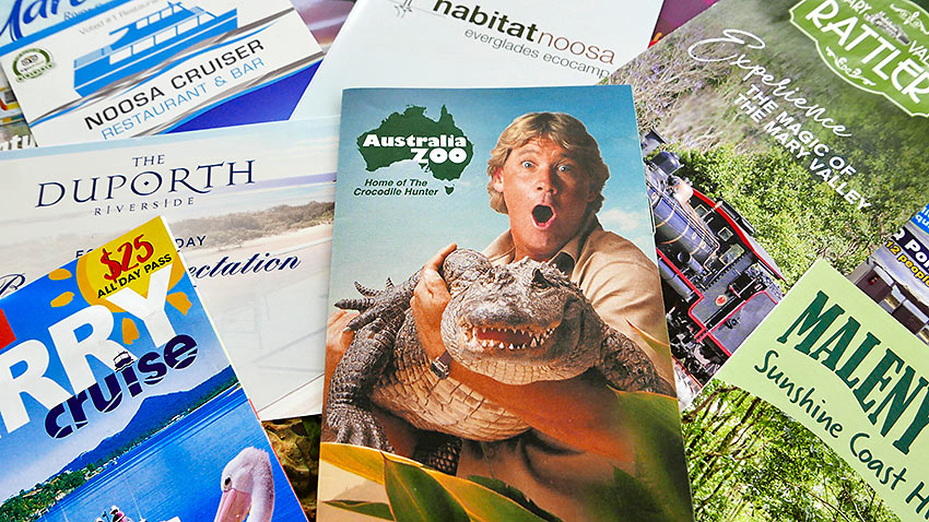 Australia Zoo brochure