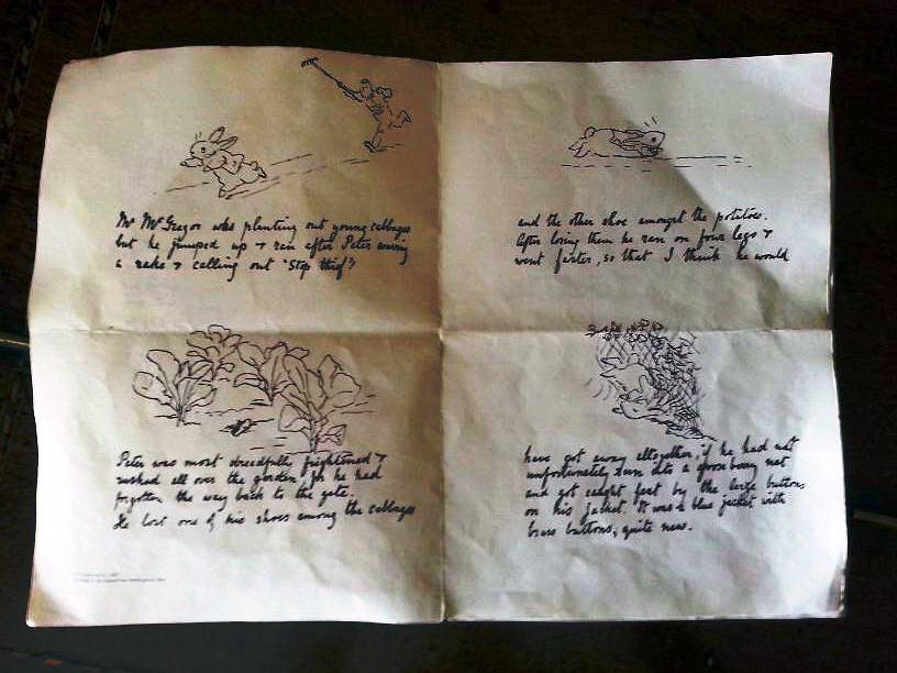 original story, Peter Rabbit, by Beatrix Potter