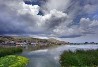 Puno and Lake Titicaca, Peru