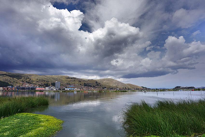 Puno and Lake Titicaca, Peru