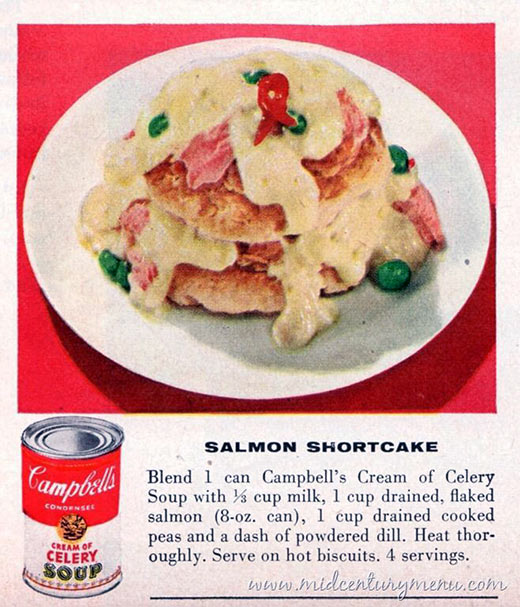 Salmon Shortcake