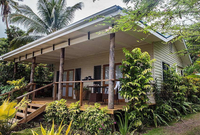 bure or cottage at Sau Bay Resort