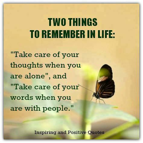 Heavy Thought of the Week: Two Things to Remember