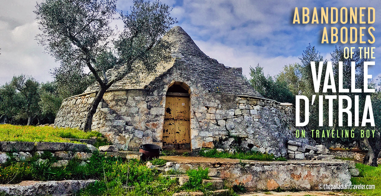 abandoned trulli of the Valle d'Itria, Italy