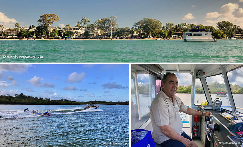 waterways cruising: from the Noosa River to the edge of Lake Cooroibah with Skipper Greg